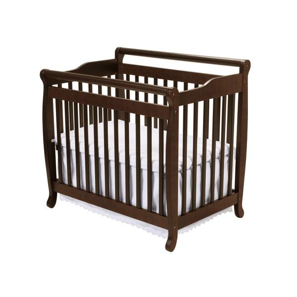 Babymod Espresso Lily Mini Crib
