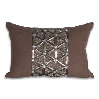 Marlo Lorenz Claudia Criss Cross 12x18-inch Pillow