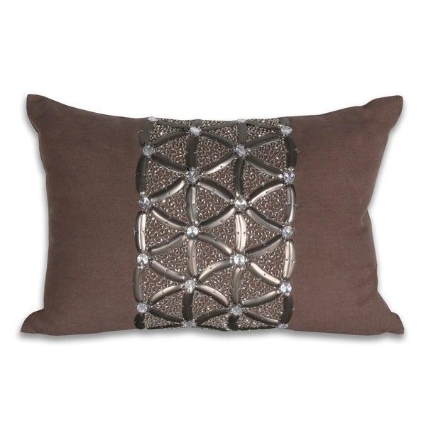 Marlo Lorenz Claudia Criss Cross 12x18-inch Pillow
