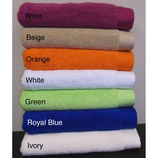  Turkish Combed Cotton 2-piece Bath Towel Set