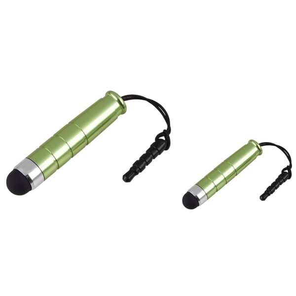 BasAcc Green Mini Stylus for Apple iPhone 4S/ 5 (Pack of 2)