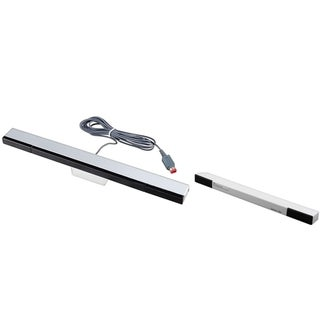 BasAcc Wireless Sensor Bar/ Black Wired Sensor Bar for Nintendo Wii