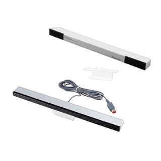 INSTEN Wireless Sensor Bar/ Black Wired Sensor Bar for Nintendo Wii