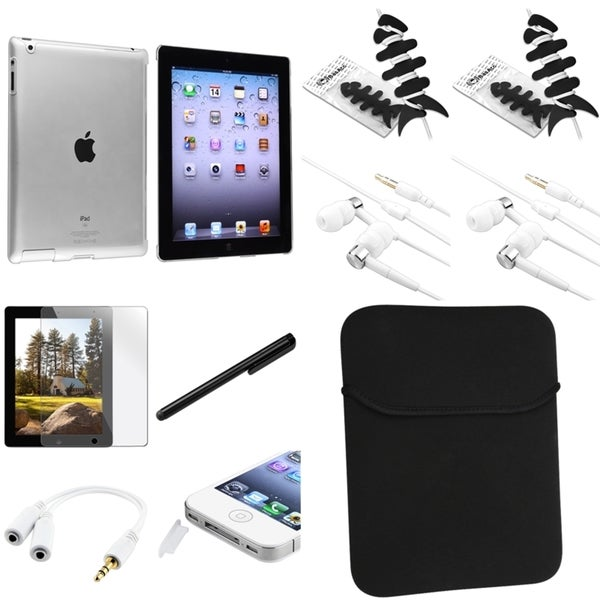BasAcc BasAcc Case/ Sleeve/ Headset/ Protector/ Splitter for Apple iPad 2/ 3/ 4