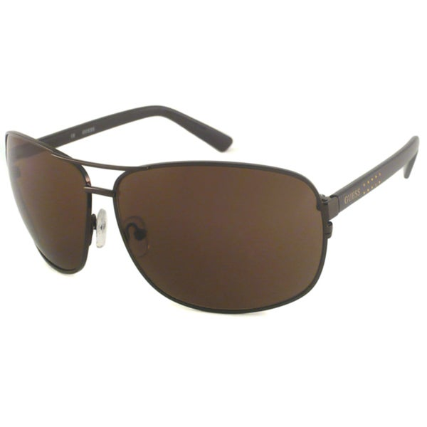 Guess Men's GU6325 Aviator Sunglasses