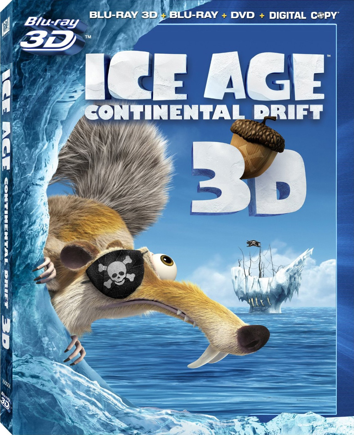 Ice Age: Continental Drift 3D (Blu-ray/DVD)