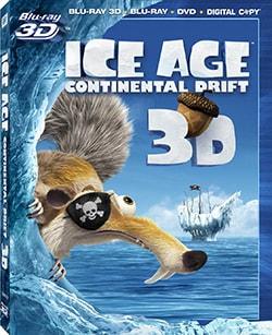 Ice Age: Continental Drift 3D (Blu-ray/DVD)