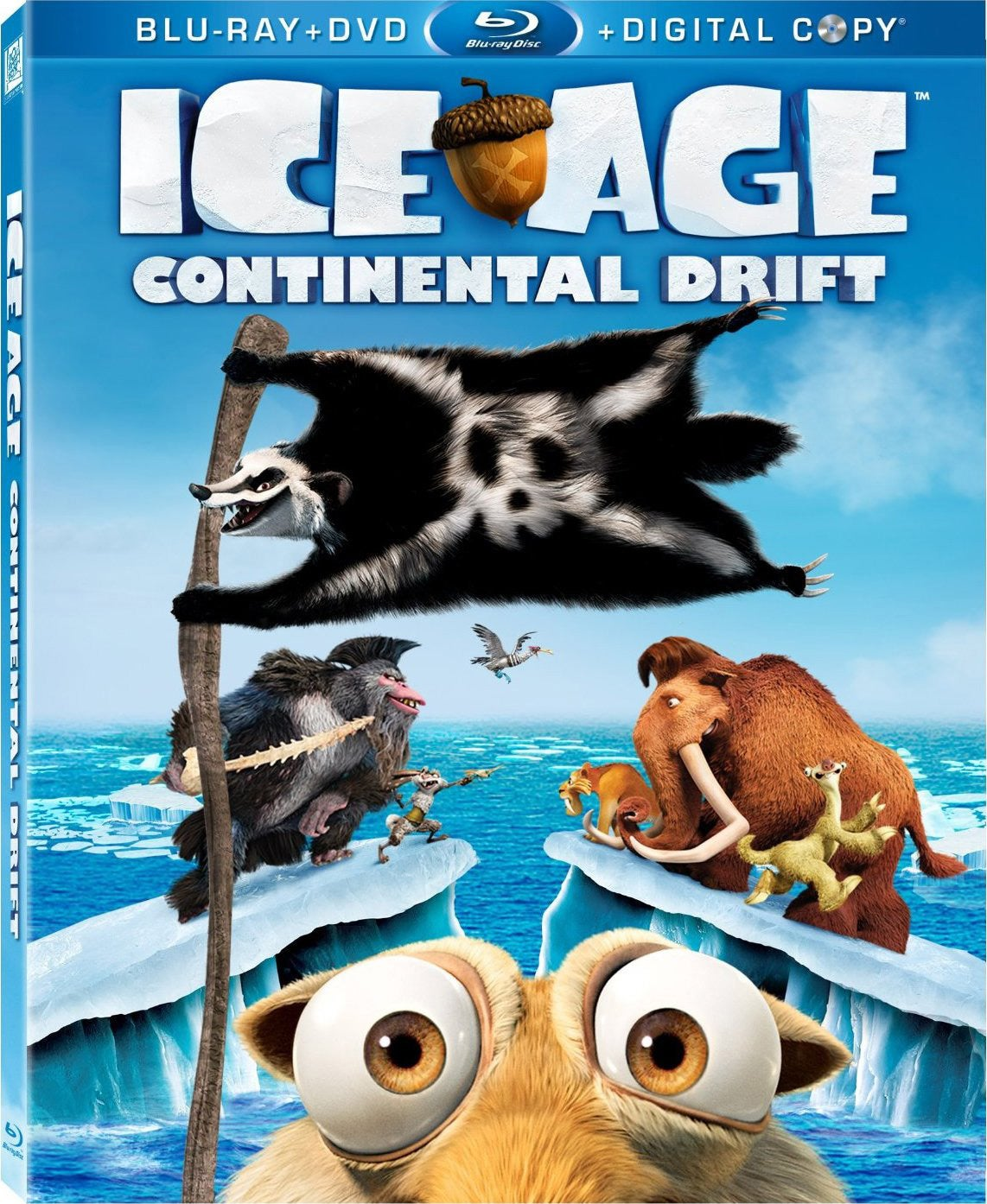 Ice Age: Continental Drift (Blu-ray/DVD)