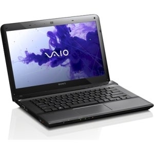 "Sony VAIO E SVE1412DPXB 14"" LED Notebook - Intel Core i5 i5-3210M Dua"