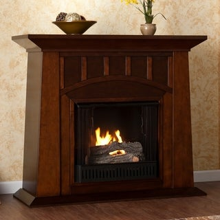 Bayard Espresso Gel Fuel Fireplace