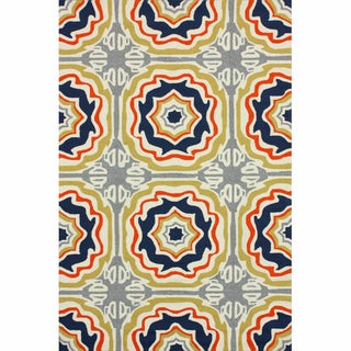 nuLOOM Handmade Indoor/ Outdoor Spanish Tiles Multi Rug