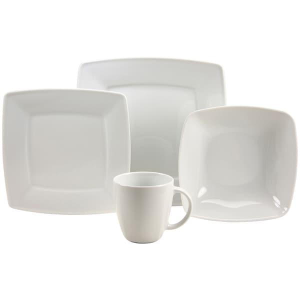 French Home 16-piece Fine Porcelain Dinnerware Set