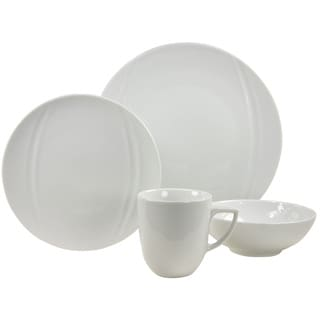 French Home 16-piece Carat Decor Fine Porcelain Dinner Ware Set