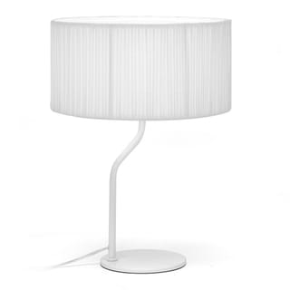 Skewa White Modern Table Lamp
