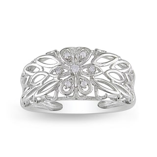Miadora 10k White Gold Diamond Accent Ring (H-I, I2-I3)