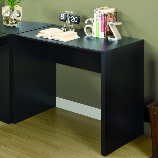 Cappuccino Hollow-Core Computer Desk