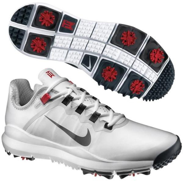 Nike Golf TW '13 Men's White Golf Shoes