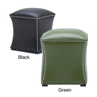 Sunpan Bellair Ottoman Leather