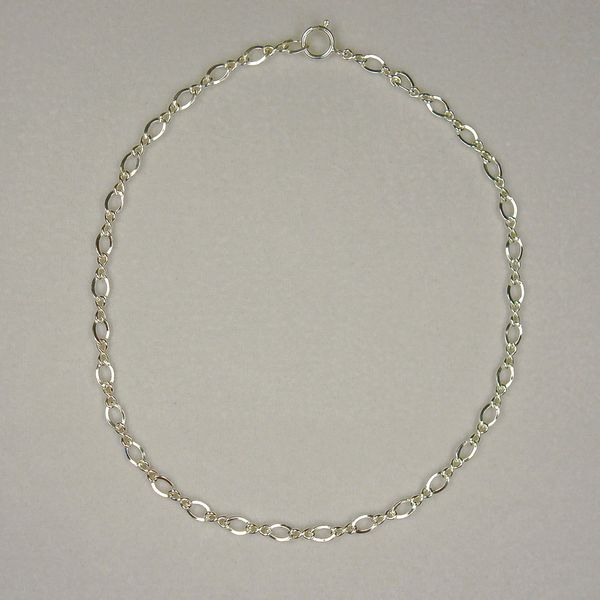 Jewelry by Dawn Sterling Silver Chain Ankle Bracelet