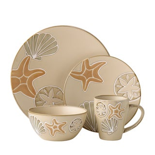 Pfaltzgraff Everyday Sandy Shore 16-piece Dinnerware Set