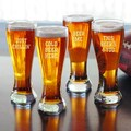 Cold Beer Here Glassware Collection (Set of 4)