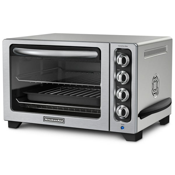 KitchenAid RKCO223CU Contour Silver 12-inch Convection Bake Countertop Oven (Refurbished)