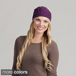 Women's Knit Flower Detail Headband