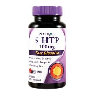 Natrol 5-HTP 100 mg Fast Dissolve (30 Tablets)