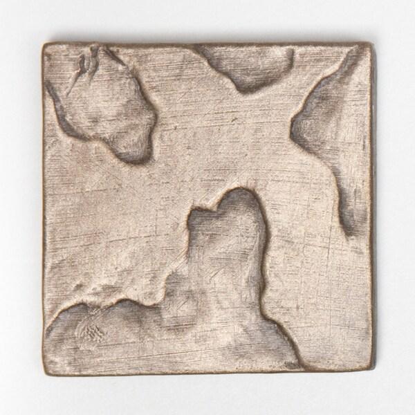 Metallicos Egyptian Tanis Bronze 2-inch x 2-inch Decorative Tiles (Set of 6)