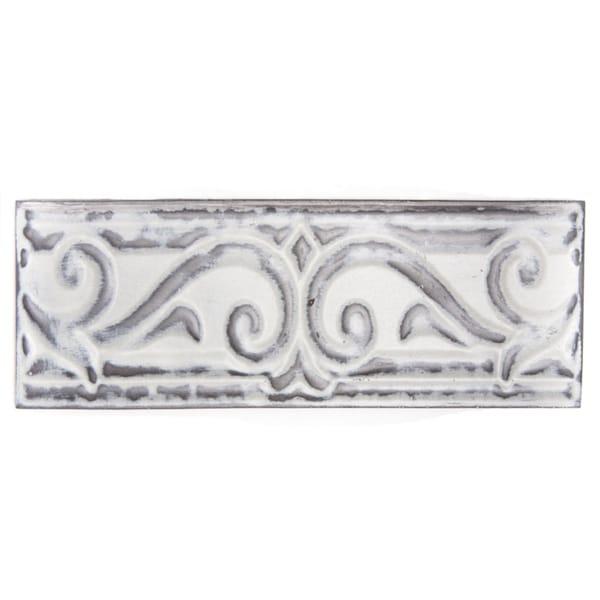 Metallicos Egyptian Memphis Vintage 3-inch x 9.5-inch Decorative Tiles (Set of 3)