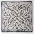 Metallicos Egyptian Rosetta Vintage 4-inch x 4-inch Decorative Tiles (Set of 4)