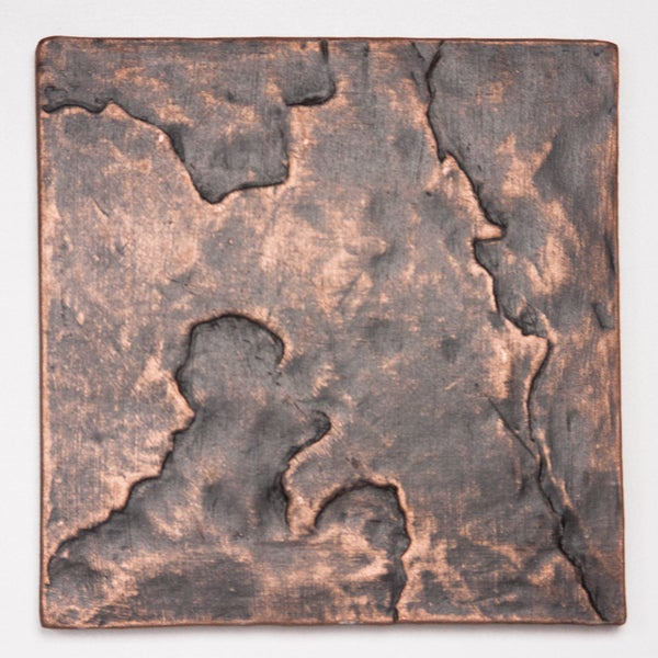 Metallicos Egyptian Tanis Antique Copper 4-inch x 4-inch Decorative Tiles (Set of 4)