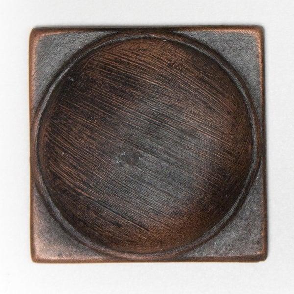 Metallicos Egyptian Naukratis Antique Copper 2-inch x 2-inch Decorative Tiles (Set of 6)