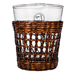 Bali Hand-woven Sea Grass Sleeve Glasses (Set of 4)