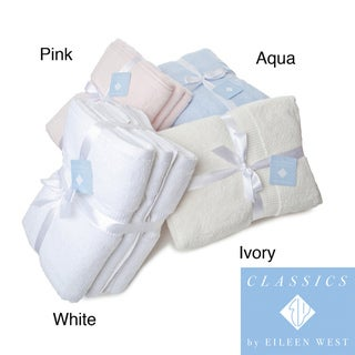 Eileen West 6-piece Solid Color Towel Set