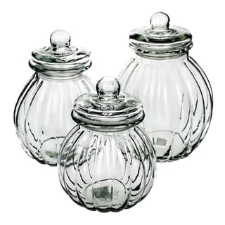 Small, Medium, Large Onion Jars (Set of 3)