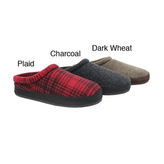 Woolrich Men's 'Mowhawk' Fleece Clog Slippers