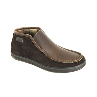 Woolrich Men's 'Arrowhead' Suede Boot Slippers