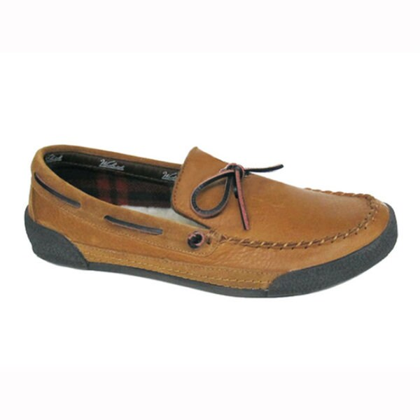 Woolrich Men's 'Brier' Elk Leather Slippers