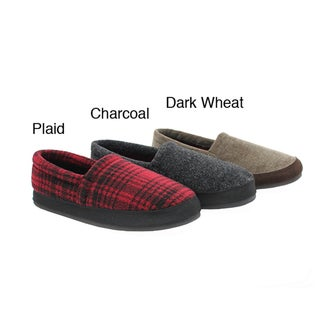 Woolrich Men's 'Mulligan' Fleece Slippers
