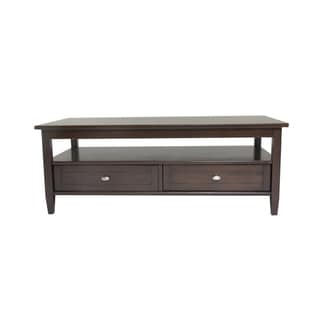 Norfolk Dark Exeter Brown Coffee Table