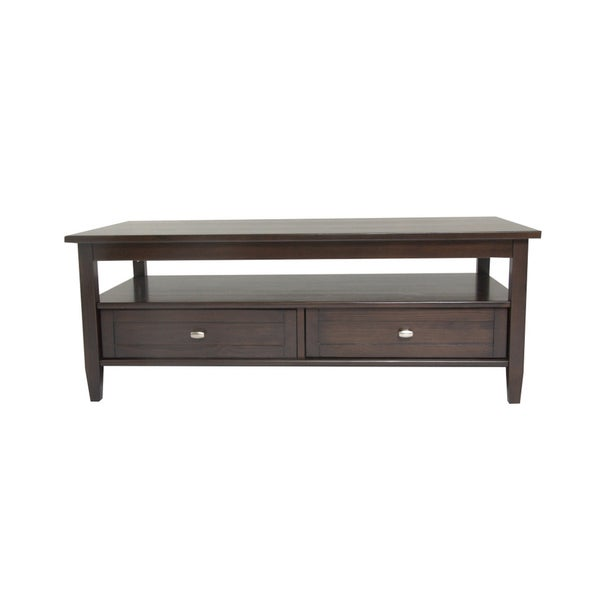 WYNDENHALL Norfolk Dark Exeter Brown Coffee Table