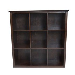 Stratford Espresso Brown 9 Cube Bookcase & Storage Unit