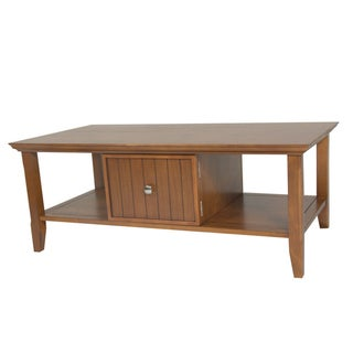 Normandy Light Avalon Brown Coffee Table