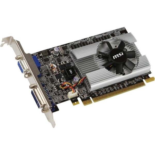 MSI N210-512D2 GeForce 210 Graphic Card - 459 MHz Core - 512 MB GDDR2