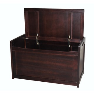 Kids' Espresso Finish Toy Box