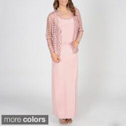 SoulMates Women's 2-piece Silk Dress