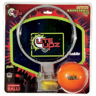 Franklin LITE UPZ Illuminating Basketball Set