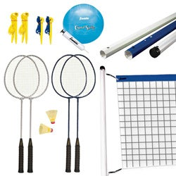 Franklin Recreational Badminton/Volleyball Set