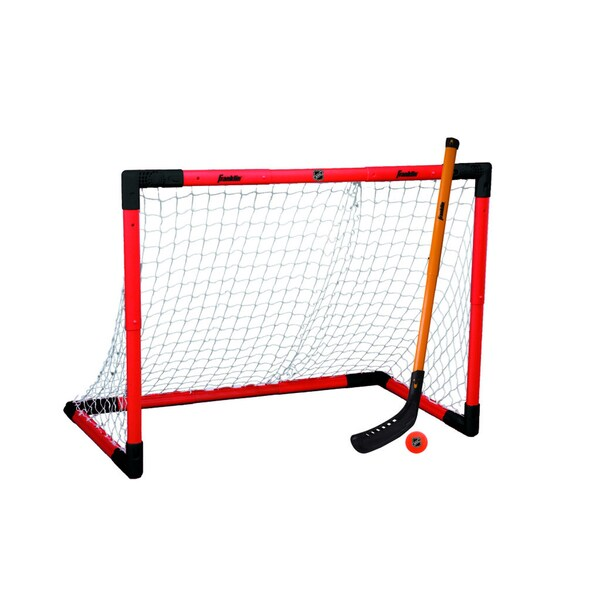 NHL Adjustable Hockey Goal Set